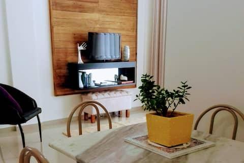 Apartamento com decoração moderninha em Chapecó