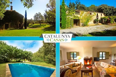 Cozy Villa Espinada for 6 guests, tucked away in the Catalonian countryside - ジローナ
