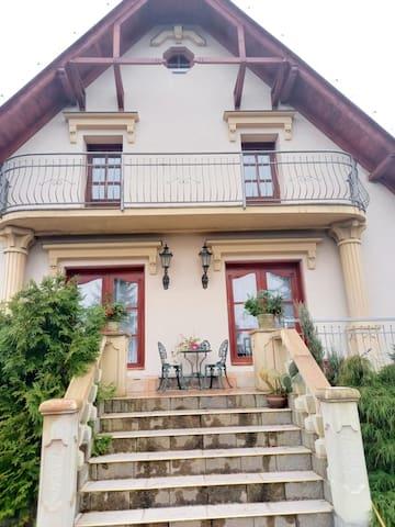Villa under the Ještěd mountain