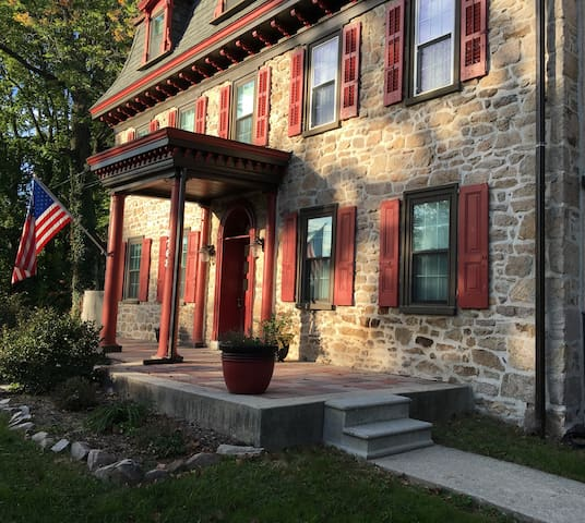Apt in Historic Colonial Home - Valley Forge area - Norristown - Apartamento