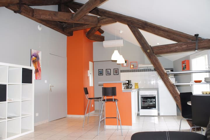 Appartement T3 ( 2 chambres) au confort optimal