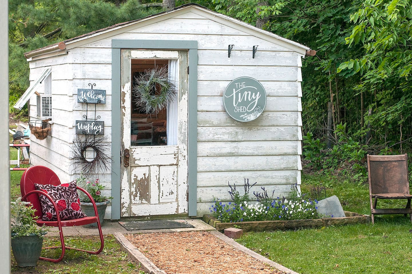 Summer at The Tiny Shed