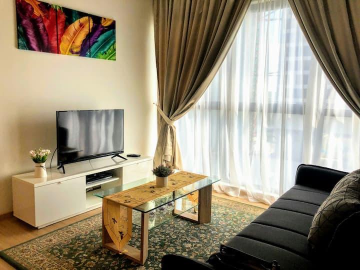 Spacious Apartment MRT Link Kuala Lumpur