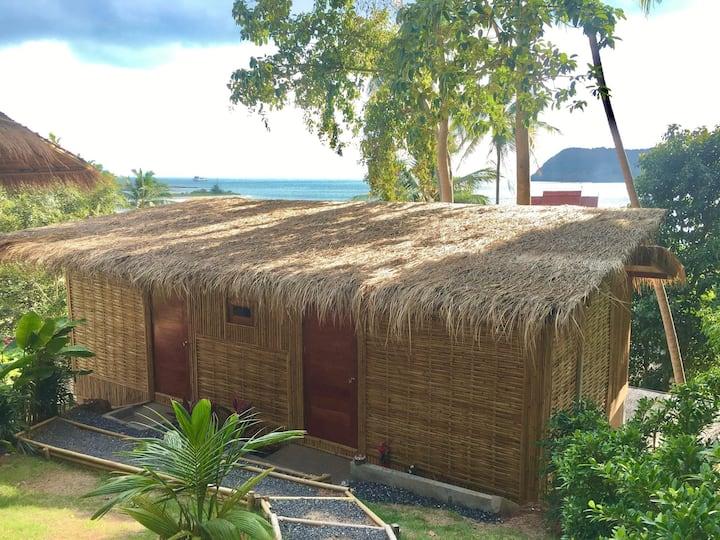Kalulushi Bamboo sea view double room