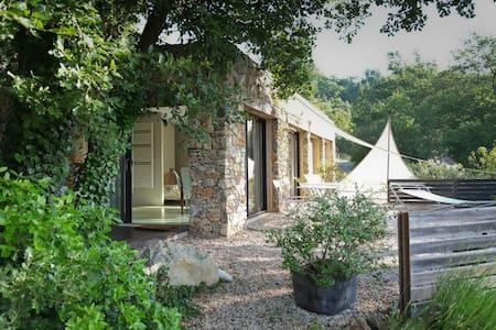 Gîte d'architecte en pleine nature - Bras - Huis