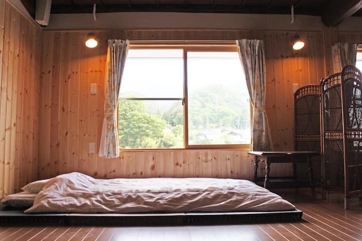 信州古民家宿つづねの森「2ndフロアー」 Japanese Country Guestroom