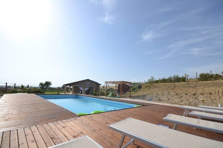 Modern villa in a great location