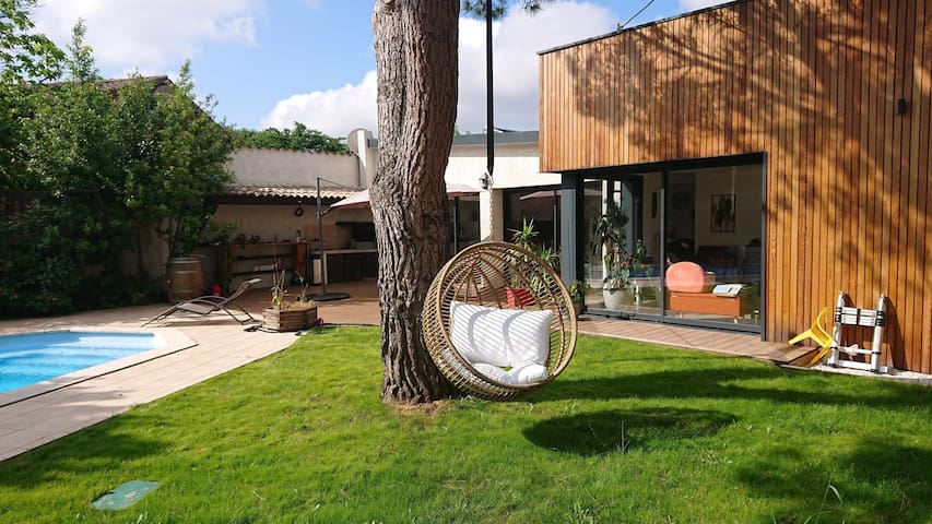 Modern & Luxury villa in the heart of Toulouse