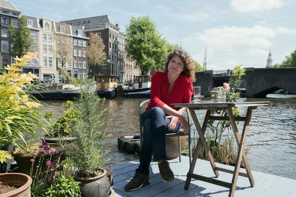 The most beautiful terrace of Amsterdam...