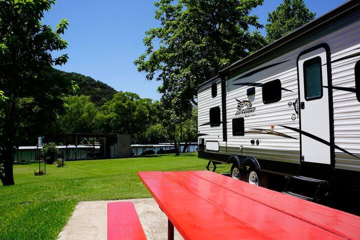 Majestic Lake Austin RV Camping Experience