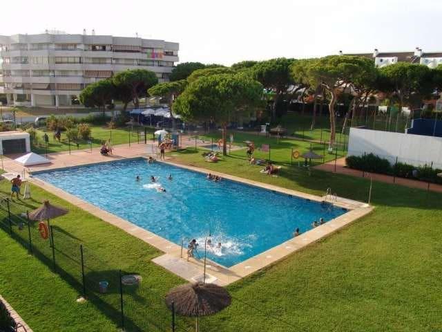 Nuevo Portil con piscina y pista de pádel - Nuevo Portil - Lejlighed