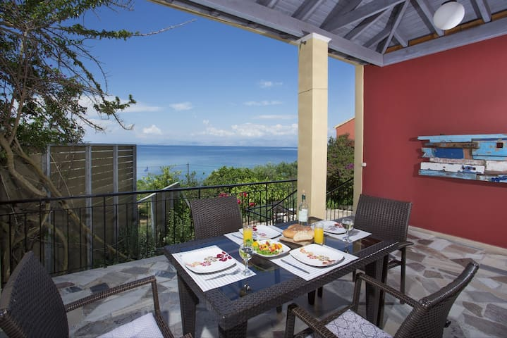 Sea Front Villa Pelagia with private pool