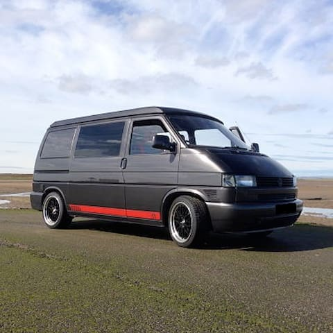 VW Campervan Rental - North Shields - Bobil