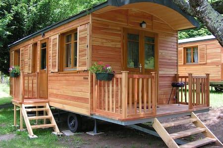Roulotte tout confort dans notre camping**** - Seilhac
