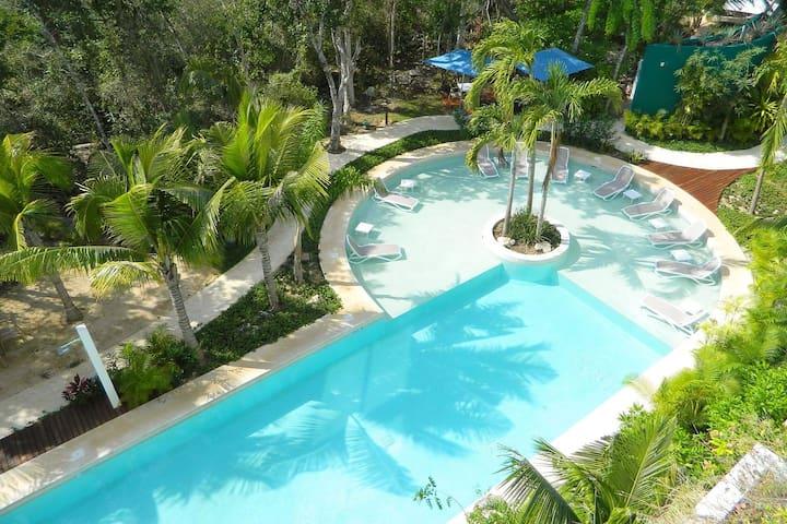 Stunning suite in 5-star resort near Tulum