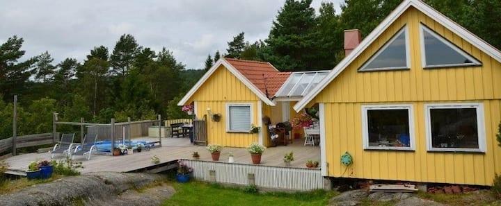 Hytte på Valle, Kragerø skjærgården