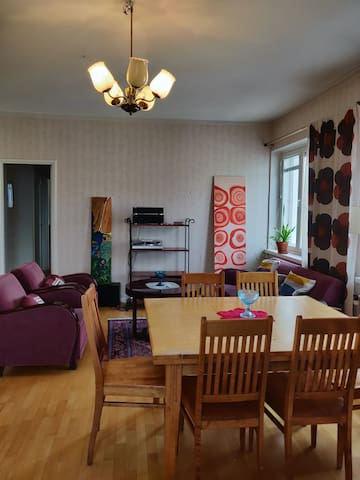 Spacious apartment in CENTER of Oulu!