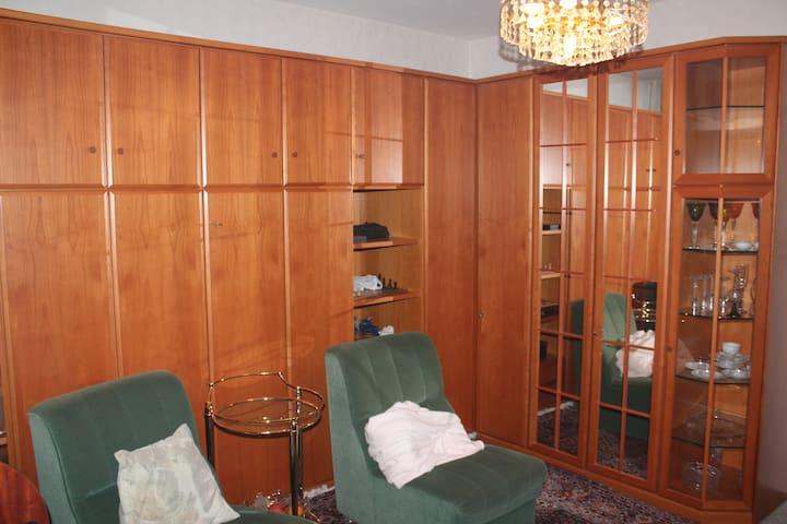 Frankfurt-City. Einzimmerwohnung 35 qm - Frankfurt am Main - Apartmen