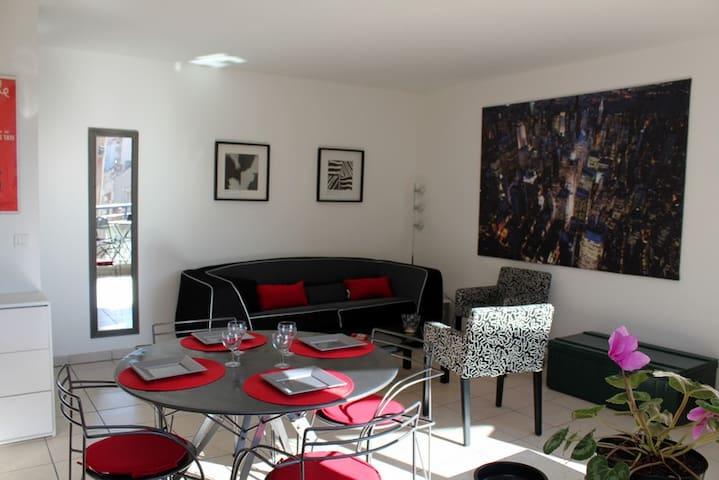 Happy cosy room cannes - Cannes - Apartamento