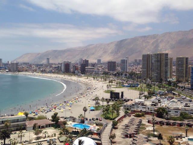 Arriendo Dpto Playa Cavancha - Iquique - Daire