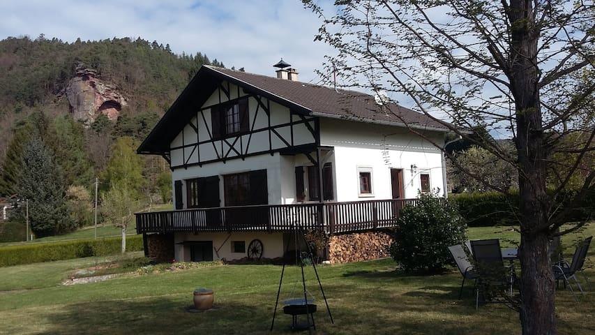 Gîte du Maimont, situation exceptionnelle, sauna - Obersteinbach - House