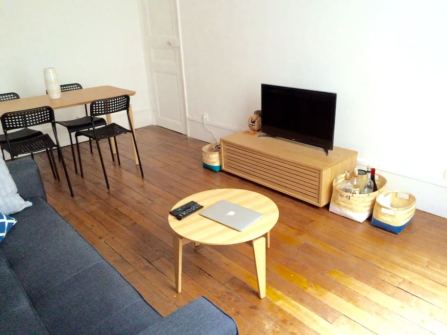 1st room - TV and Internet