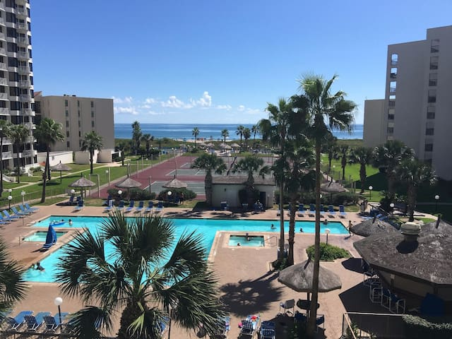BEACHFRONT + TENNIS + POOL + BEST LOCATION - South Padre Island - Apartmen
