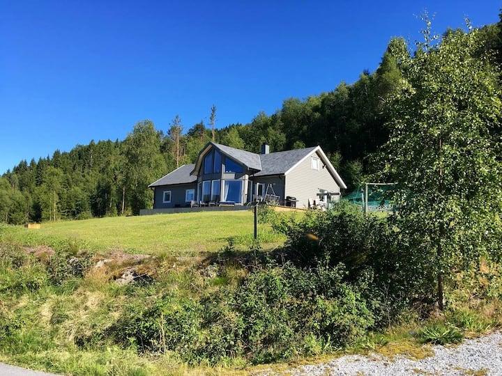 Hus i landlige omgivelser