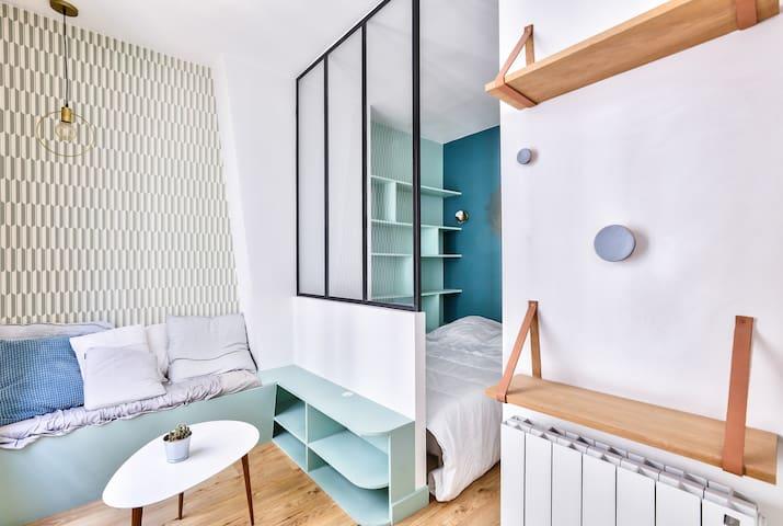 Studio Flat Full Of Charm In Montmartre !