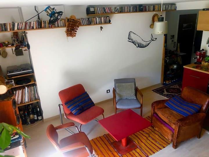 Appartement d'artiste avec Jardin