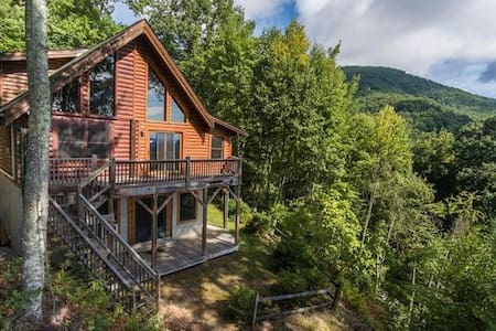 Beautiful Log Cabin with Panoramic Views