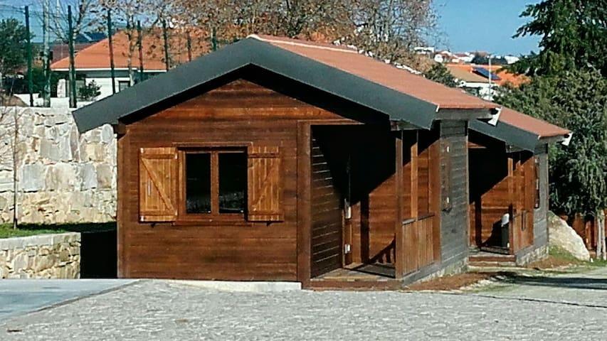 Chalé Superior - Douro Camping - Miranda do Douro - Chatka w górach