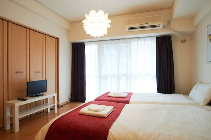 Suehirocho 4min/Up to 6People/FreeWifi - Chiyoda-ku - Apartment