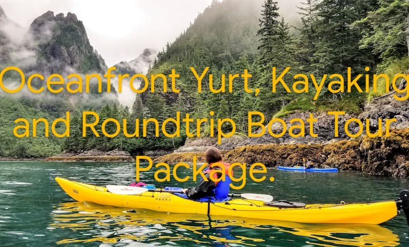 Adventure Package: Yurt, Boat Tour and Kayaking #3