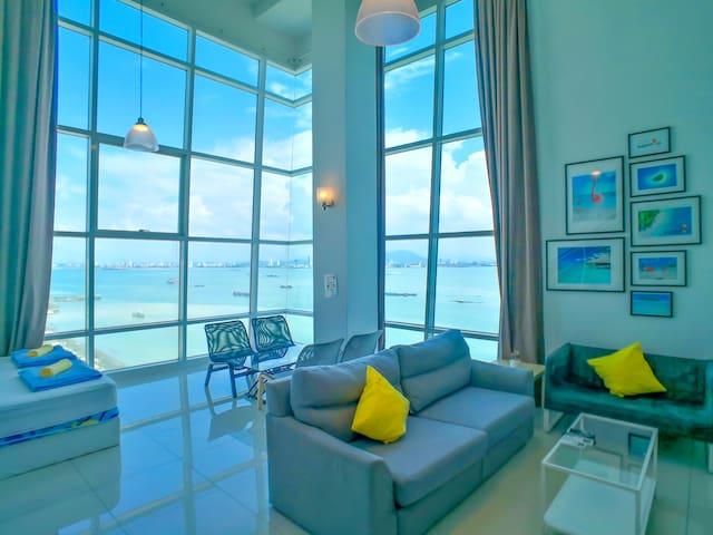超级无敌海景日出海边套房 180° Sunrise Seaview Duplex 3