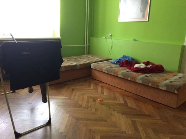 one room in center - Trenčín - Huoneisto