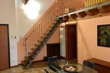 appartamento su due livelli, dotato di tutto, ideale per 4 persone