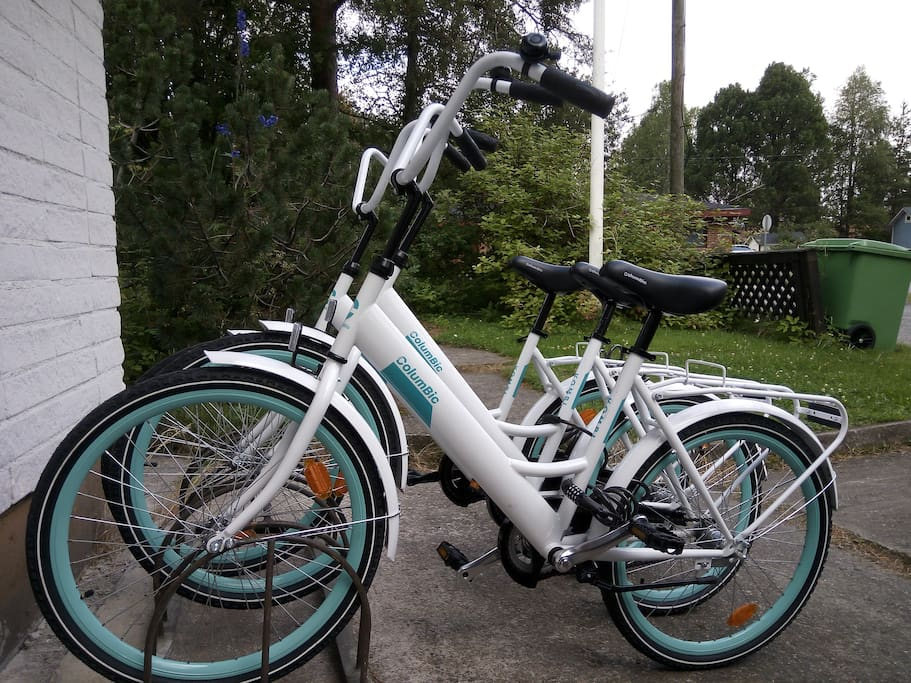 You can use our guest bikes
