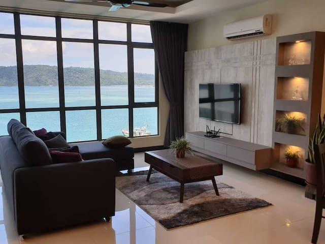 SEA VIEW CONDO ,CITY CENTRE/亚庇美海景公寓/바다 콘도미니엄
