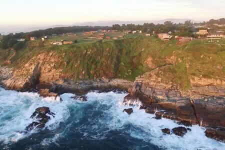 Albergue al borde del mundo - Puchuncavi, Región de Valparaíso, CL - 生態土屋