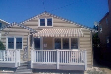Adorable Brigantine Beach Cottage - Brigantine - House