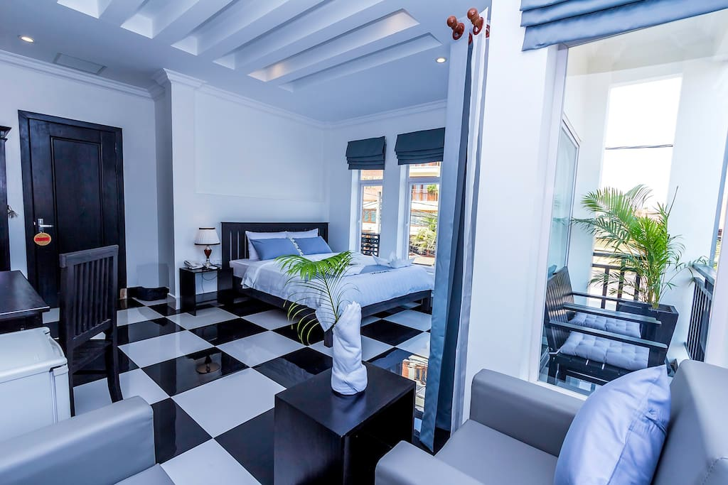Rithy Rine Angkor Residence/ Deluxe Double/Twin City View