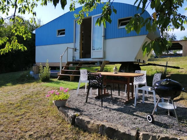 Magnifique Tiny House en Alsace du Nord