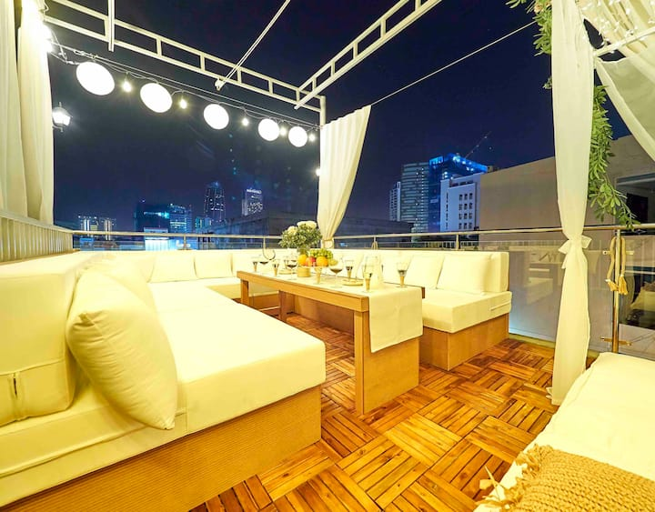 COUCOU3*Chillout Rooftop*Heated KidPool@Han River