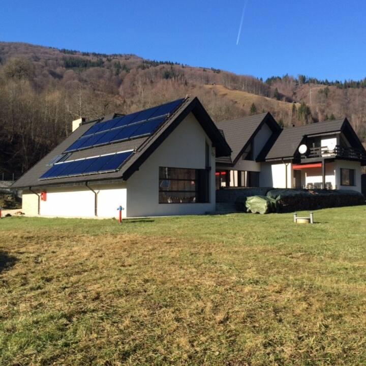 Lovely house in wonderful landscape