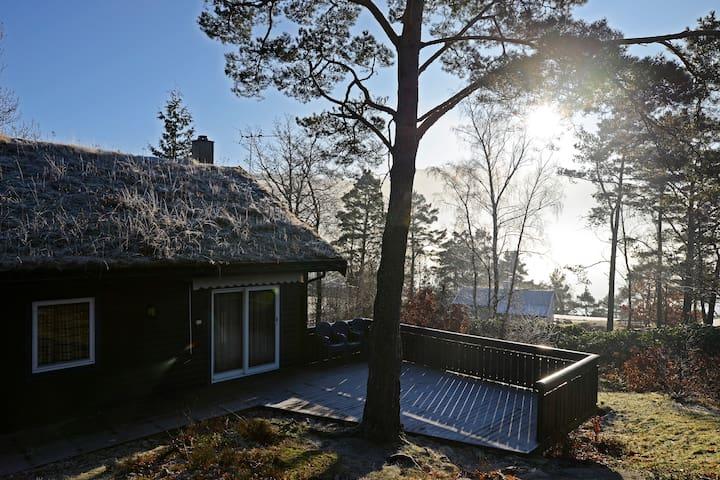 Hytte til leige i naturskjønne omgivelser - Fister - Srub