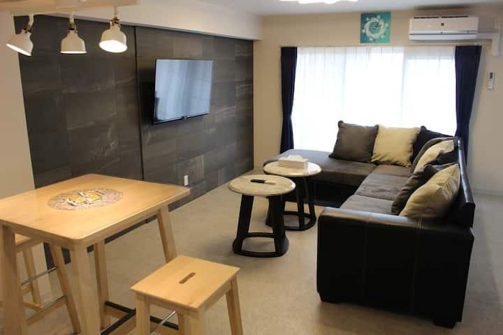 NEW OPEN  HOTEL Flap Resort ファミリールーム ♪広々3LDK(80㎡)