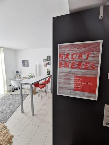 Modernes 1 Zimmer Apartment im Herzen Karlsruhes