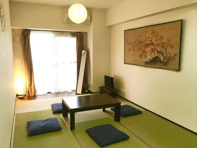 ☆Sale on March / Large Room w/Tatami 4 people 七 - Kyōto-shi