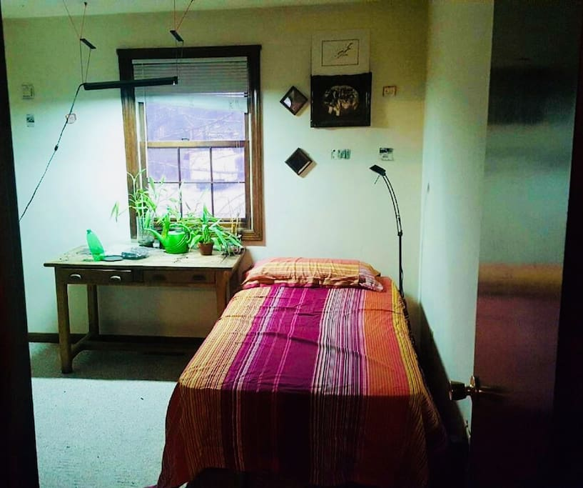 Bedroom on second level